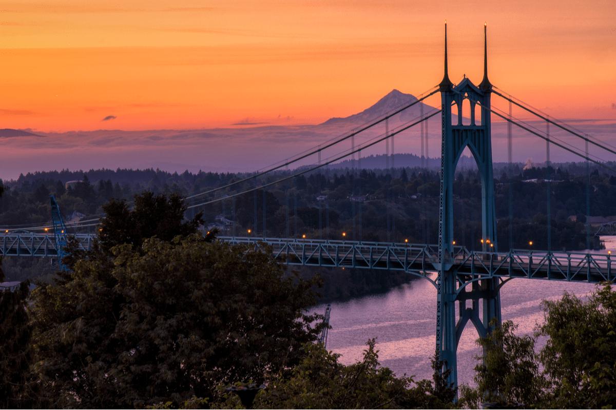 Northwest District in Portland.