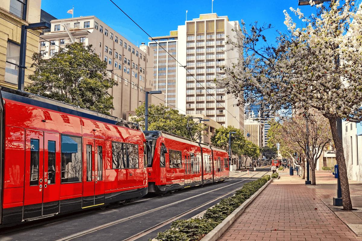 San Diego transportation.