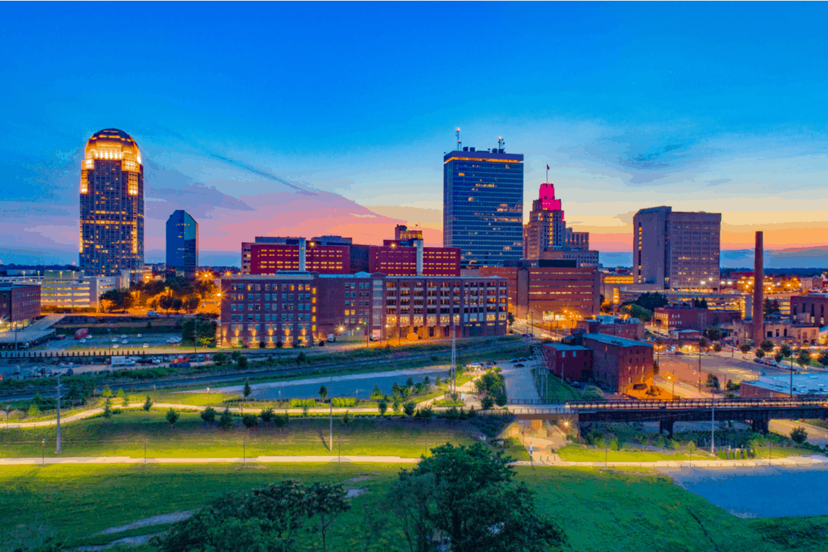 Winston-Salem, one of the cheapest places to live in North Carolina
