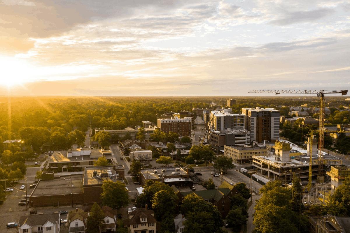 East Lansing, Michigan.