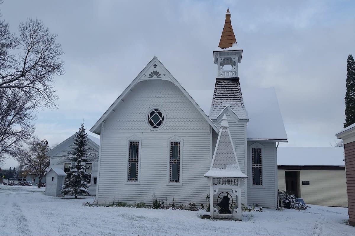 Snowy Wisconsin.