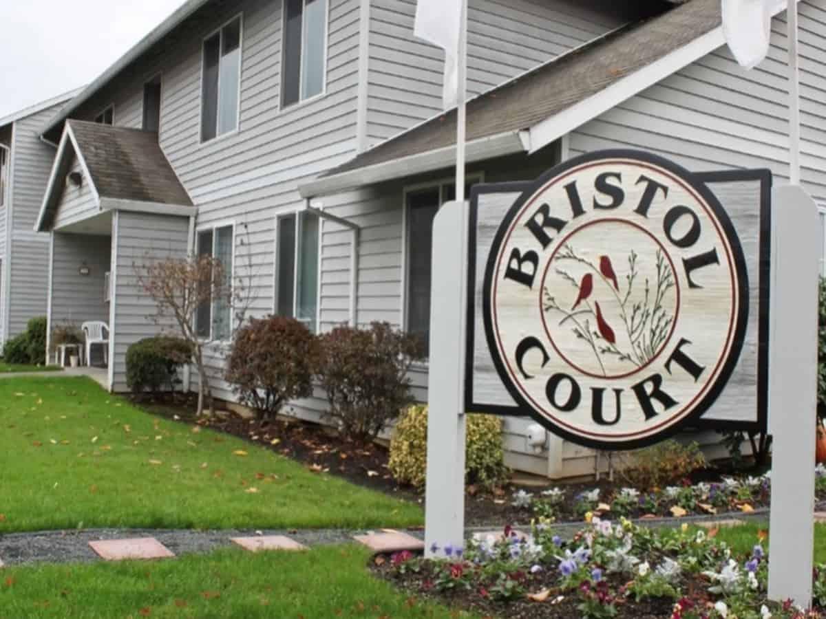 Bristol Court in Portland.