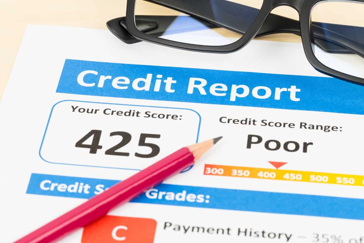 Credit score.